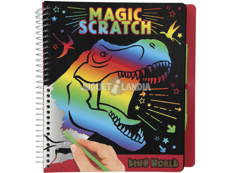 Dino World Magic Scratch Book 10833