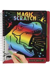 Dino World Magic Scratch Book 10833