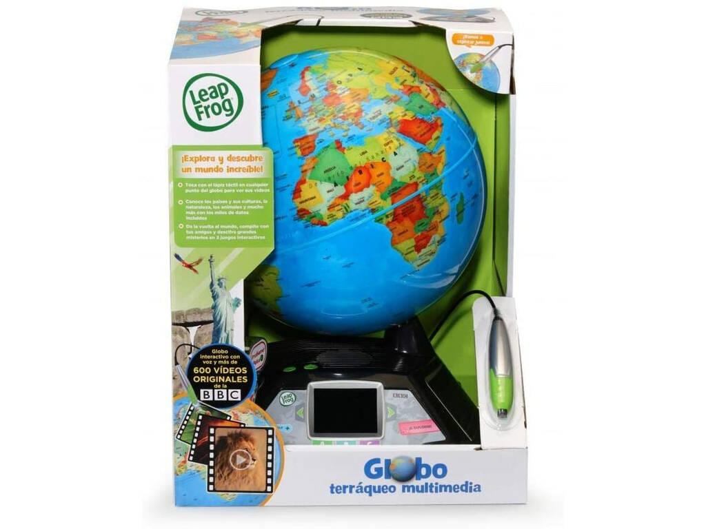 Globo Terráqueo Multimedia Leap Frog Cefa Toys 724