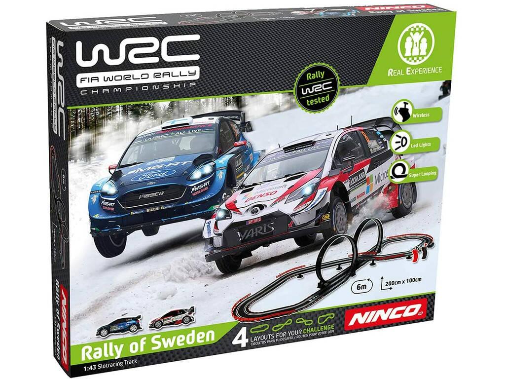 World Rally Championship Rally Sweeden Ninco 91013