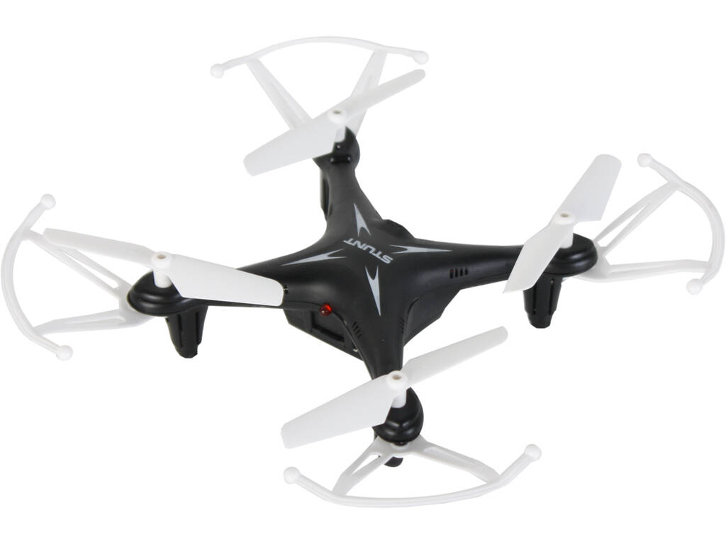 Dron Stunt Quad Negro 2.4GHZ 14.5 cm.