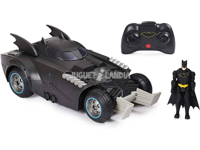 Batman Batmóvil Radio Control Lanza y Defiende Bizak 6192 9230
