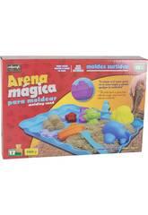 Arena Mágica 700 gr. con Accesorios 17 piezas