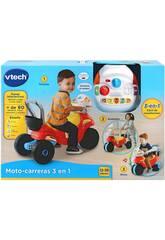 Moto De Course 3 En 1 Rouge et Jaune VTech 529467