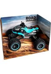 Funksteuerung 1:14 Blaues Quad Crawler 7.2V Batterie