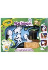 Washimals Safari Oasis Piscina con Cuatro Cachorros Crayola 74-7328