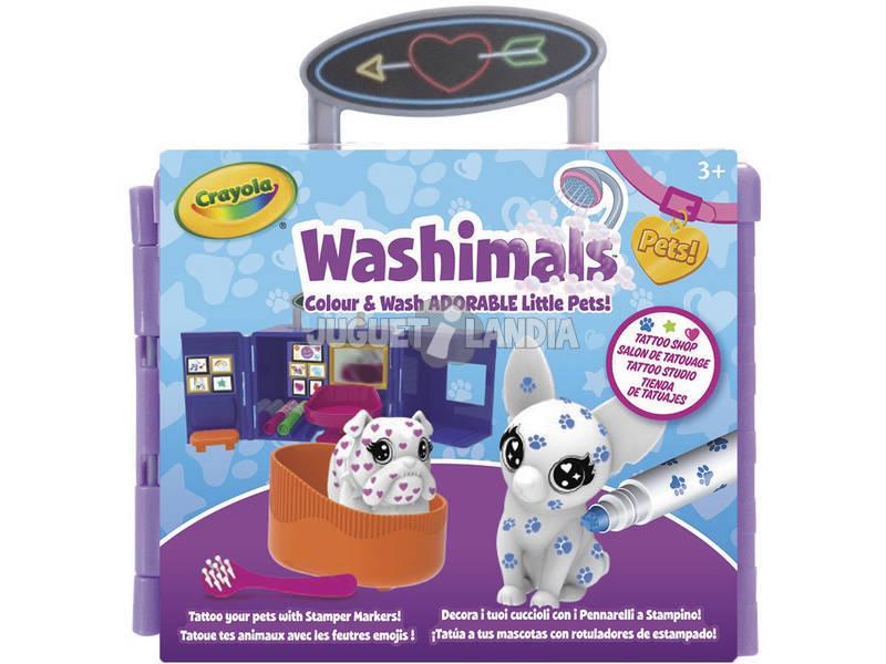 Washimals Pets Estudio de Tatuajes Crayola 74-7412