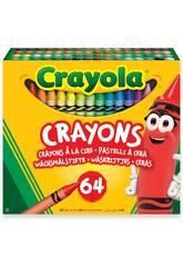 Crayola Pack 64 Ceras 52-6448
