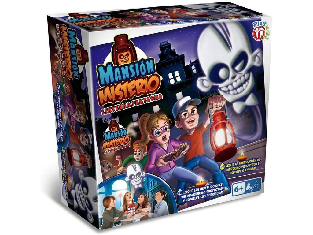 Mansión Misterio Linterna Fantasma IMC Toys 93553