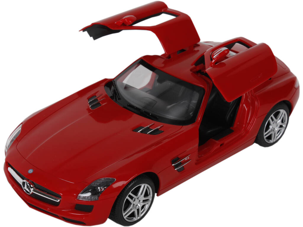 Radio Control 1:14 Mercedes Benz SLS AMG Rojo