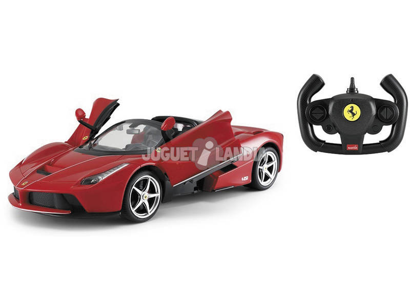Radio Control 1:14 Ferrari Aperta Rojo