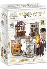 Harry Potter Puzzle 3D Set Callejón Diagon World Brands DS1009H