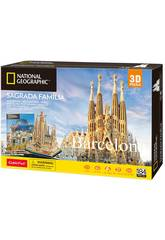 National Geographic Puzzle 3D La Sagrada Familia World Brands DS0984H