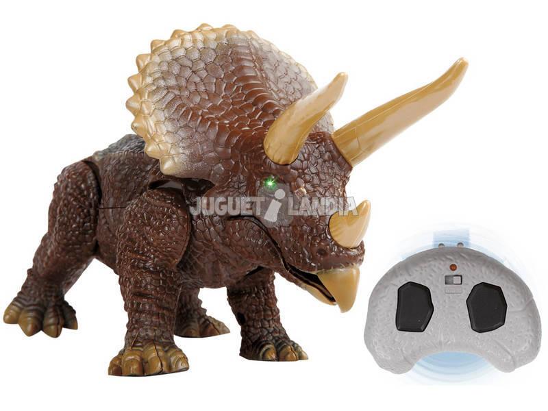 Dinosaurio IR Triceratops Discovery World Brands 6000251