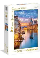 Puzzle 500 Venecia Iluminada Clementoni 35056