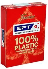 Baraja Poker EPT 100% Plástico Fournier 1040724