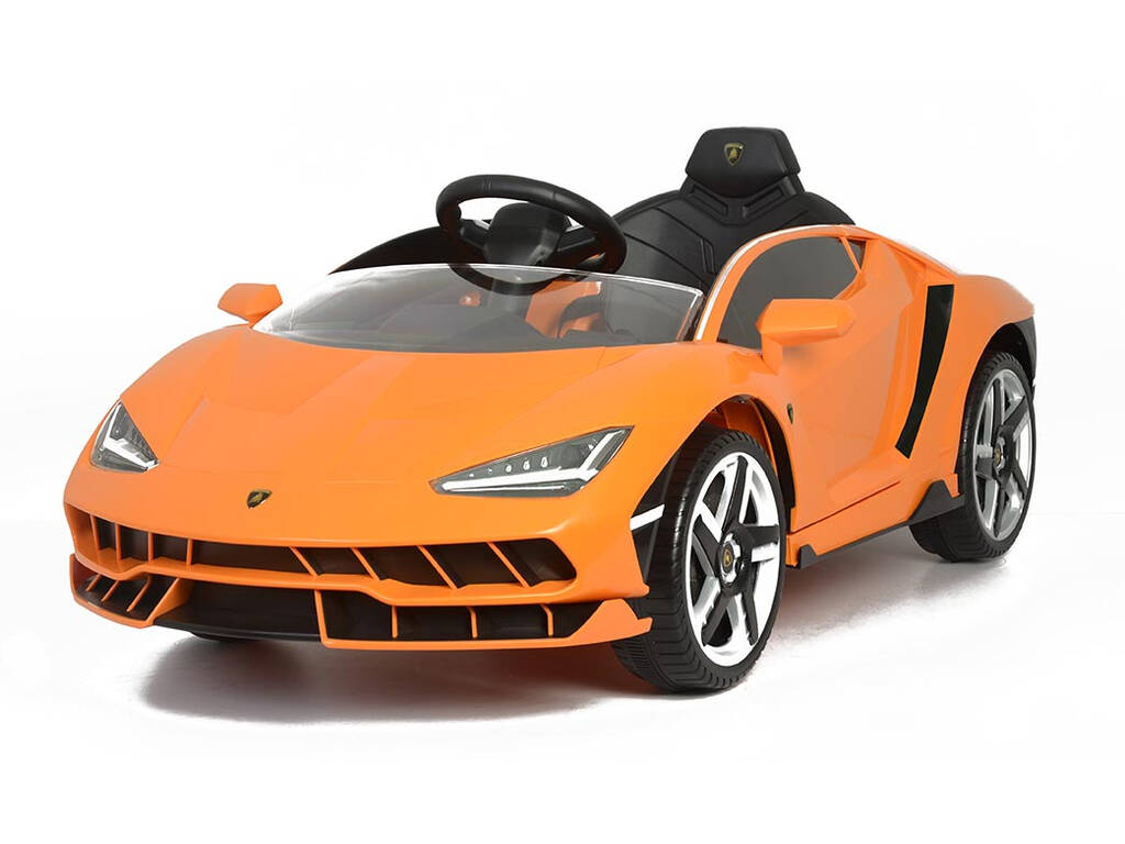 Coche Batería Lamborghini Centenario 12 v. Radio Control Naranja