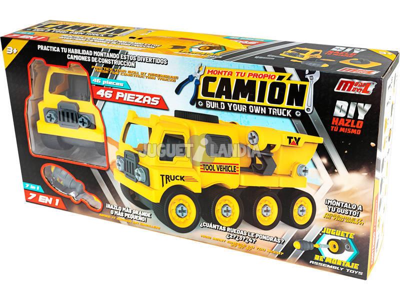 Camión Construcción Montable Ampliable 7 en 1