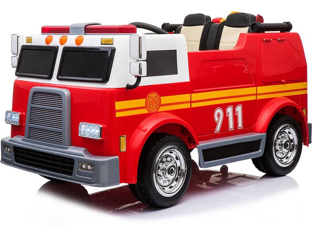 Camión Batería Bomberos 12v. Radio Control
