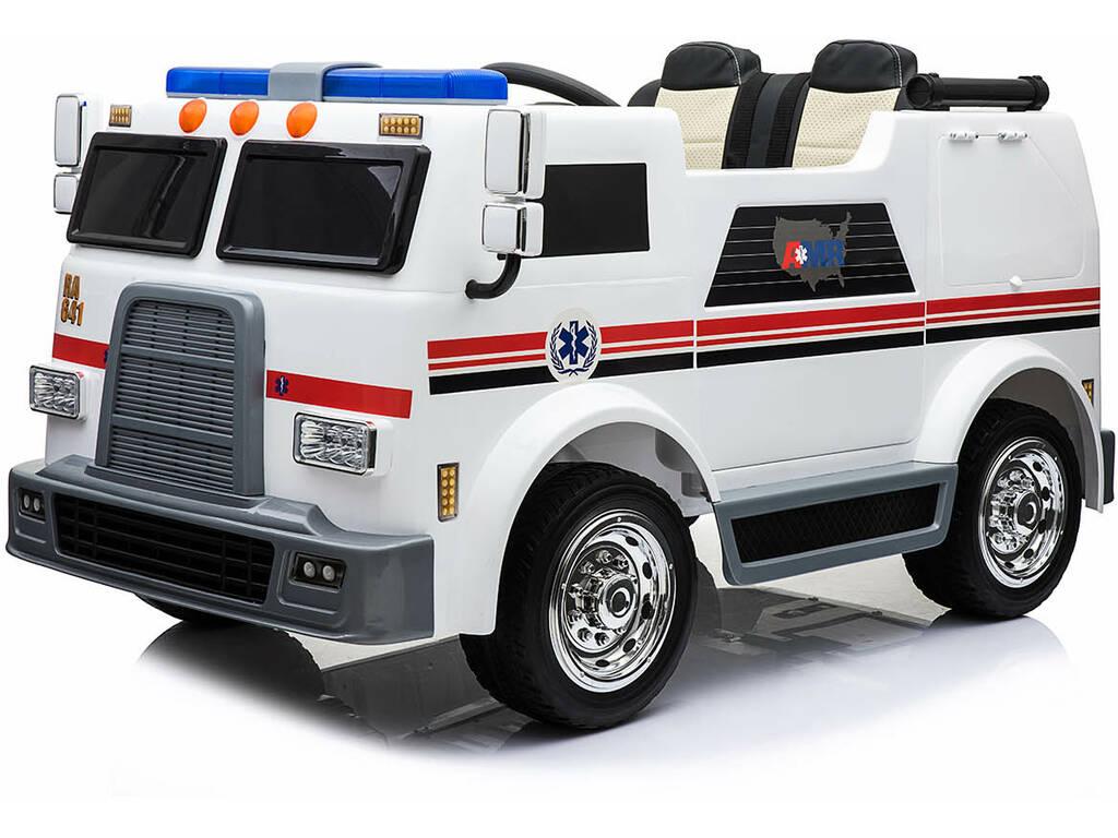 Camión Batería Ambulancia 12v. Radio Control