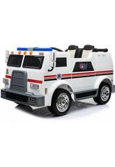 Camion Batteria Ambulanza 12v. Radio Comando