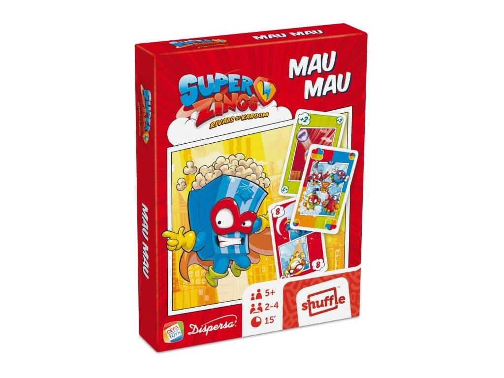 Jeu de Société Superzings Mau Mau Cefatoys 685