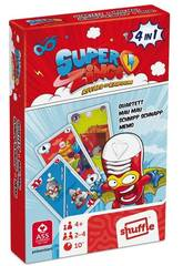 Superzings Paquet Cartes 4 En 1 Cefa Toys 684