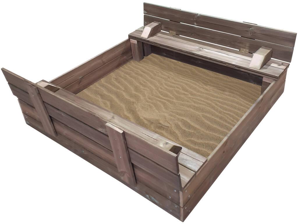 Arenero con Cubierta Plegable Masgames MA600100