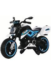 Moto Batería MotoXR Azul con Música 12V