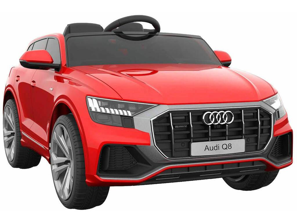 Voiture à Batterie Audi Q8 Télécommande 12 V. Rouge