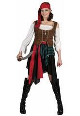 Disfraz Pirata Mujer Talla M
