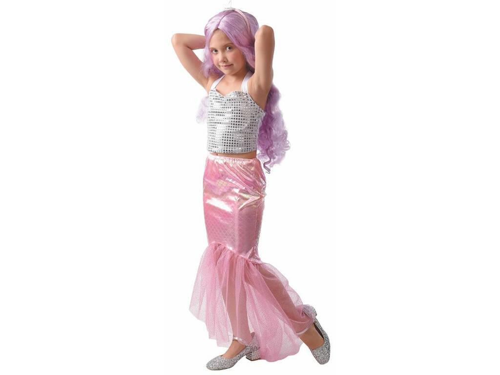 Disfraz Falda Sirenita con Diadema Niña Talla L
