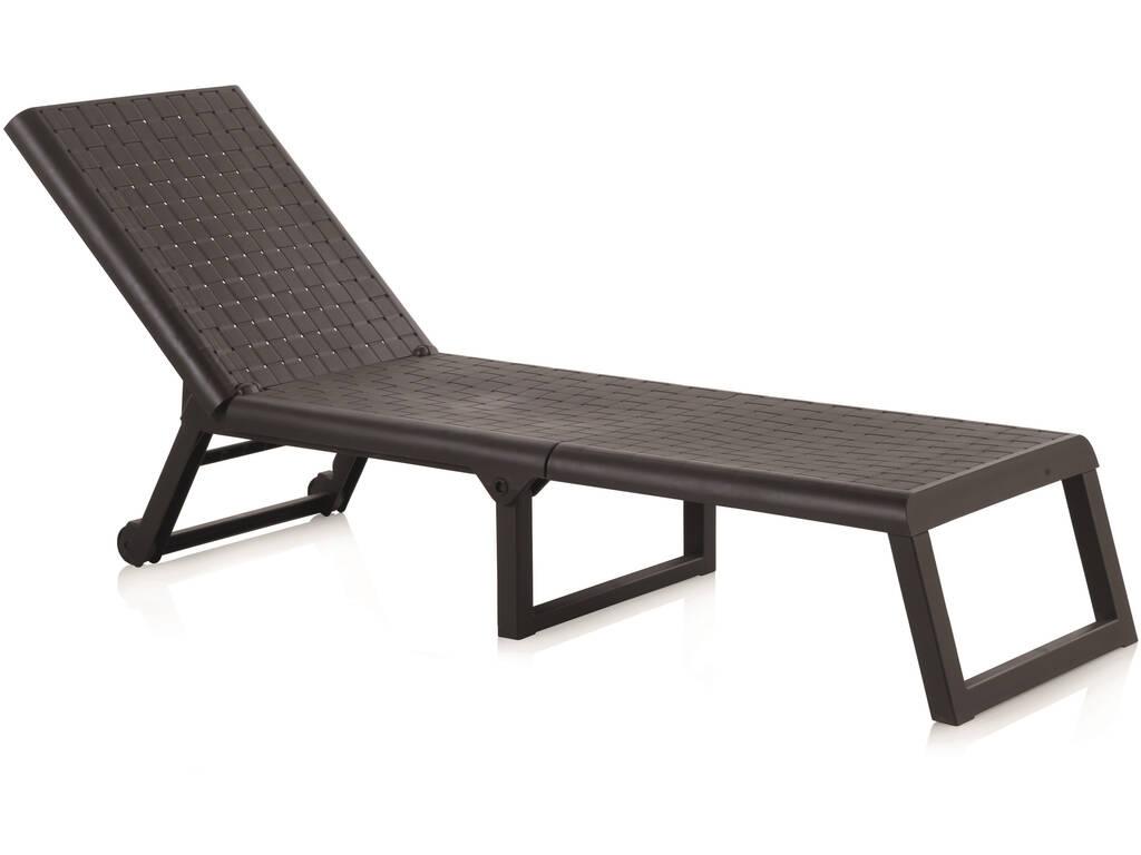 Muebles Jardín Tumbona Dream Wengué SP Berner 32082