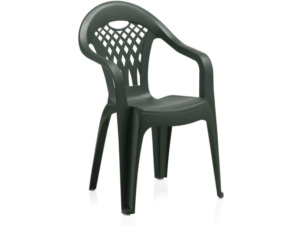 Muebles Jardín Silla Cancún Verde Sp Berner 43025