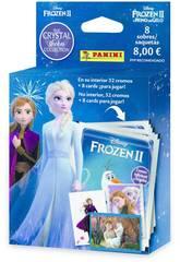Frozen II Crystal Ecoblister 8 Bustine Panini 003987KBE8
