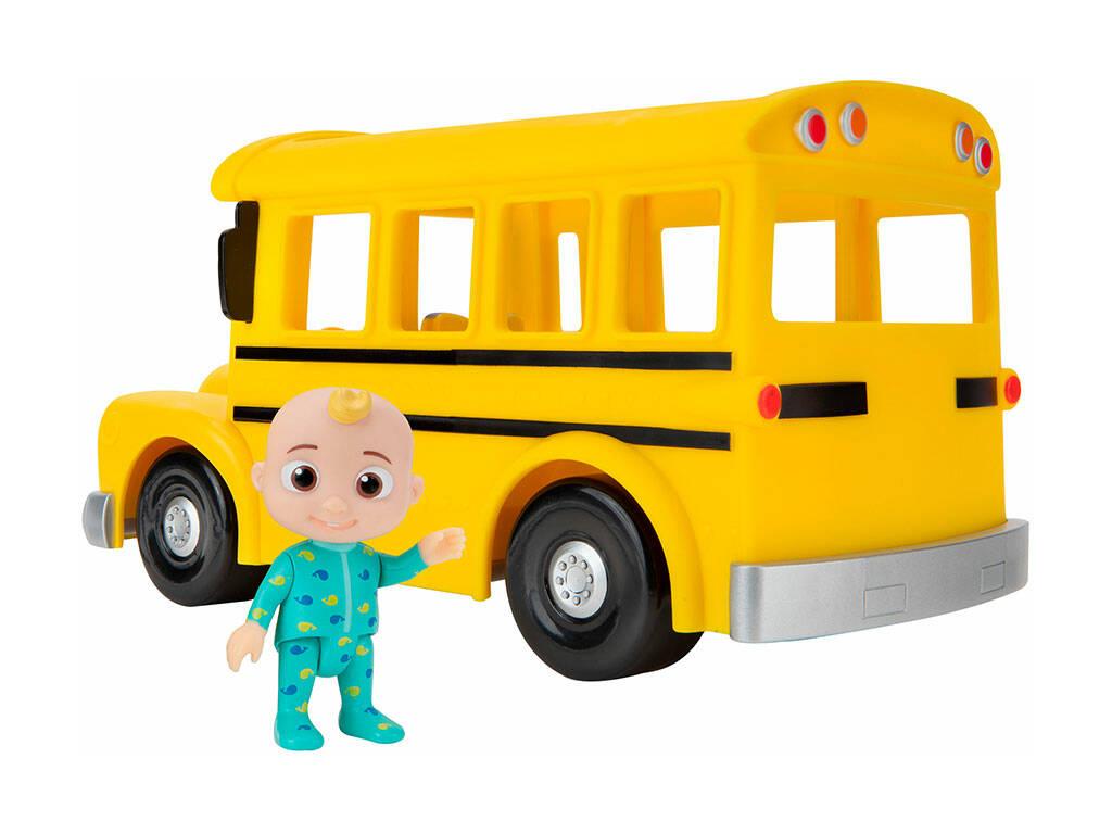 Cocomelón Autobus Musical del Cole Bandai WT80113