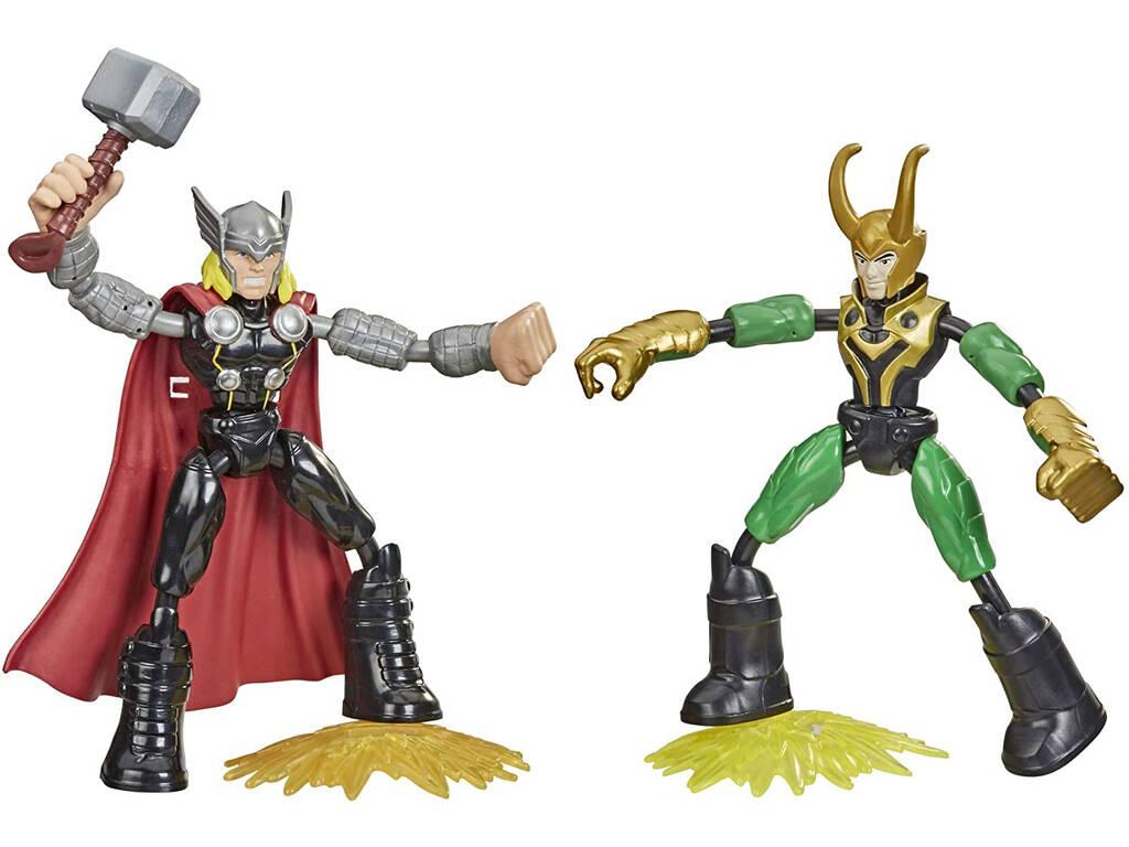 Avengers Bend And Flex Thor Vs Loki Hasbro F0245