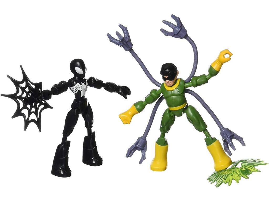 Avengers Bend And Flex Spiderman Vs Doc Ock Hasbro F0239
