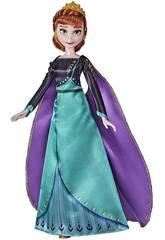 Frozen II Muñeca Reina Anna Hasbro F1412