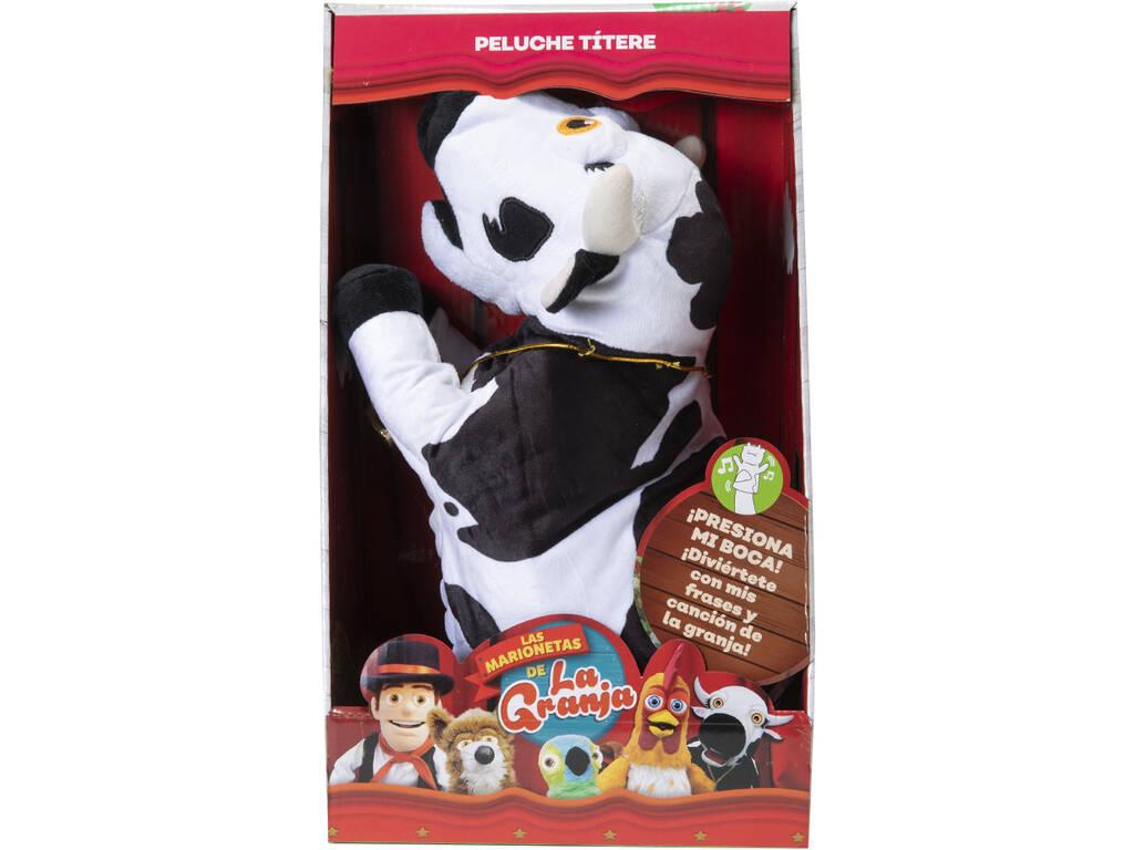 La Granja De Zenón Marioneta Musical Vaca Lola Bandai AR84600