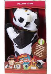 La ferme de Zénon Marionnette Musicale Vaca Lola Bandai AR84600