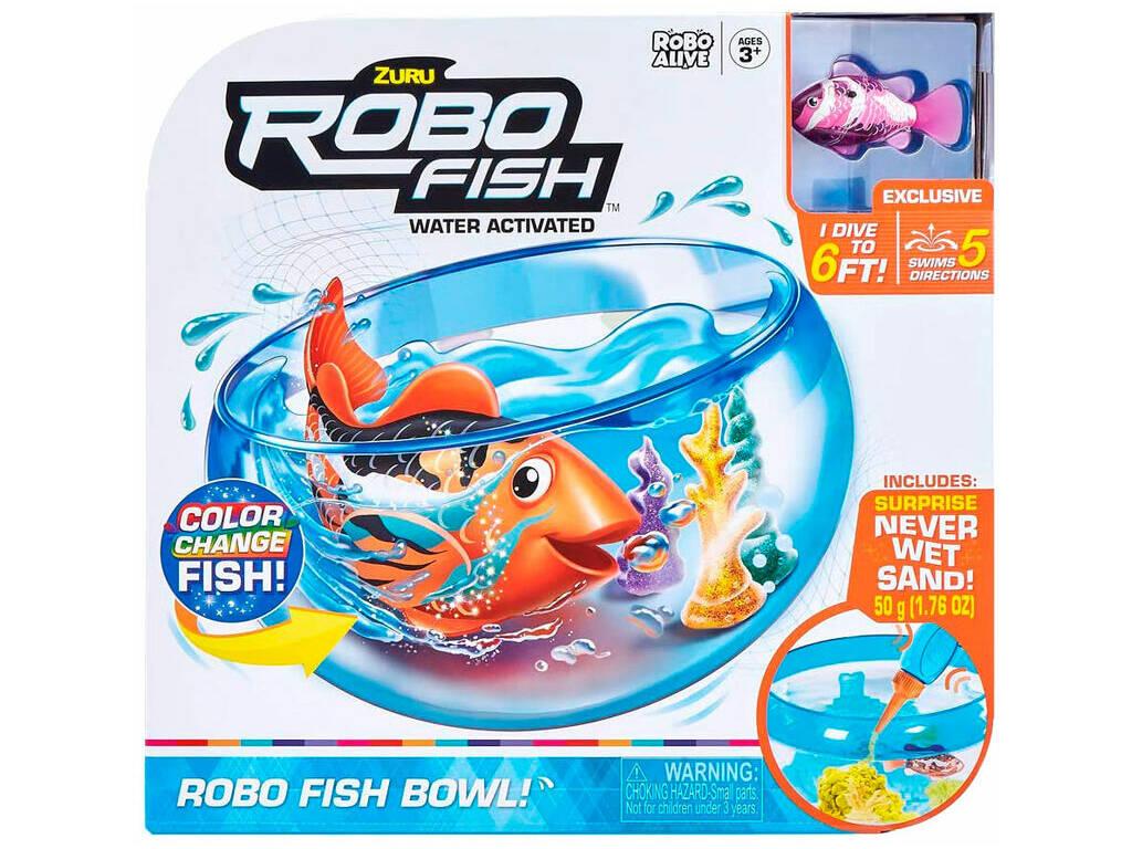 Acuario Robo Fish con Pez Bandai ZU7126