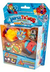 Superthings Power Machines Blister 4 Figuras y 2 Powerjets Magic Box PST7B416IN00