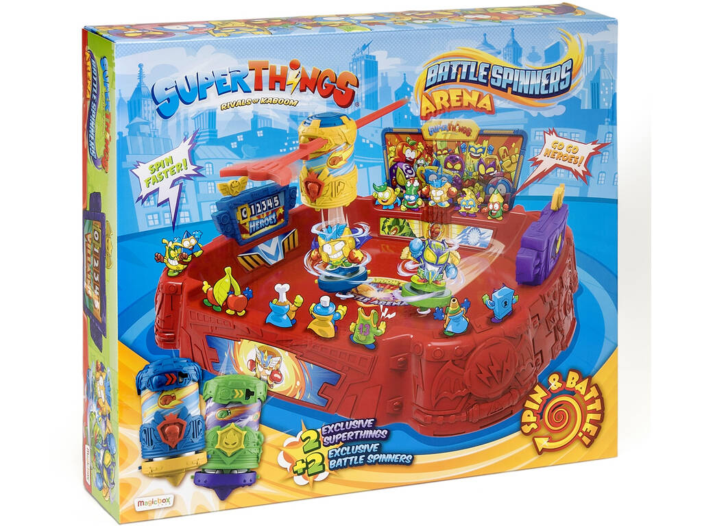 Superthings Battle Spinners Arena Magic Box PSTSP112IN70