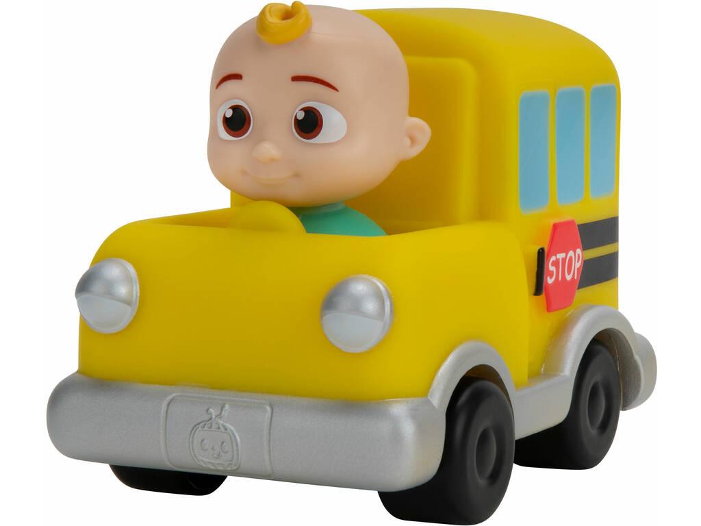 Cocomelon Vehículo Autobús del Cole JJ Bandai WT80110