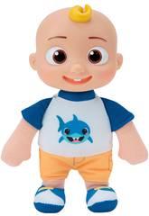 Cocomelon Peluche JJ Con Camiseta De Tiburón Bandai WT80117