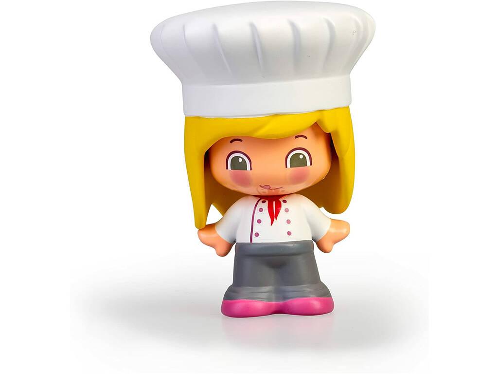 Figura Pin y Pon Profesiones Chef Famosa 700016289