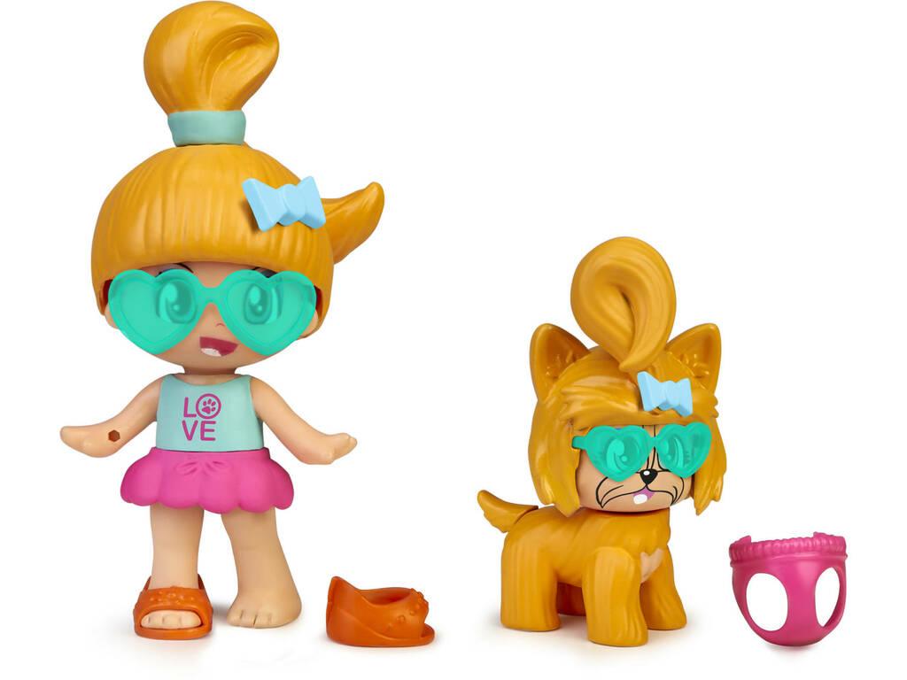 Figura Pinypon My Puppy and Me Naranja Famosa 700016243