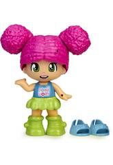 Pinypon Cambia le mie scarpe figura capelli rosa Famosa 700016209