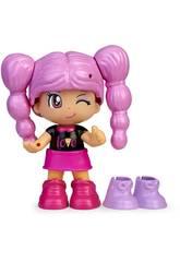 Pinypon Change My Shoes Figura Capelli viola Famosa 700016209